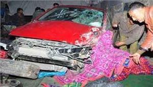 लखनऊ के रैन बसेरे में घुसी बेकाबू कार 13 को रौंदा 5 की मौत