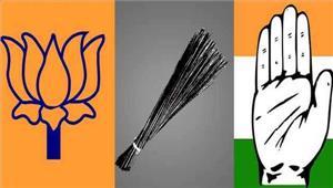दिल्ली नगर निगम  थमा चुनाव प्रचार दिग्गजों ने बहाया जमकर पसीना झोंकी पूरी ताकत