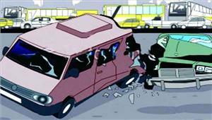 मप्रट्रक की टक्कर से कार में सवार 5 लोग घायल