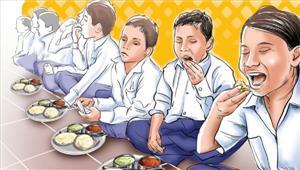 मध्यप्रदेश कुपोषण के विरुद्ध चलाए जा रहे अभियान के तहत 60 लाख बच्चों को मिल रहा मध्याह्न भोजन