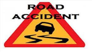 सड़क दुर्घटना मेंमोटरसाइकिलसवार 2युवकों की मौत