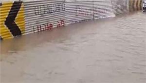 बरसात का दौर कमज़ोरबाढ़ के हालातों में सुधार