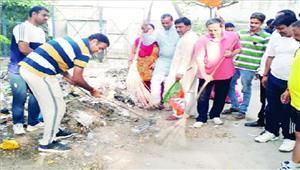 स्वच्छ प्रदेश-स्वस्थ्य प्रदेश के तहत शुरू हुआ सफाई अभियान