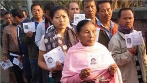 मणिपुर10 बजे तक 31 प्रतिशत मतदान