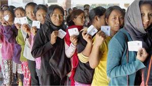 मणिपुर चुनाव में85 फीसदी लोगों ने किया मतदान