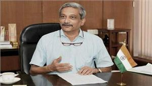 मनोहरपर्रिकर ने गोवा के मुख्यमंत्री पद कीशपथ ली