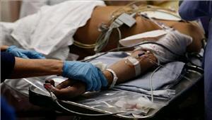 चोटिल अमेरिकी नागरिक अस्पताल में भर्ती