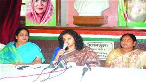 भाजपा सरकार घोषणा पत्र के वायदों को पूरा करने में असफल  शोभा