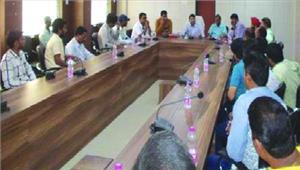 व्यापारियों की बैठक में दी गई जीएसटी के संबंध में जानकारियां