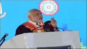 मोदी ने भारतीय विज्ञान कांग्रेस का उद्घाटनकिया
