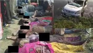 मथुरा में कार नहर में गिरी10  की मौत