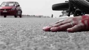 मोटरसाइकिल और बस की टक्कर में तीन की मौत