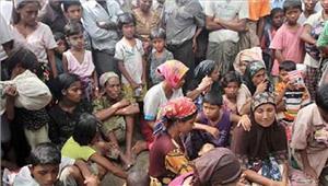 बंगलादेश मेंरोहिंग्या मुस्लिम शरणार्थियों की संख्यास्थिरहुई
