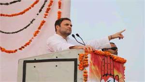 राजग सरकार ने देश की अर्थव्यवस्था को किया तबाह  राहुल