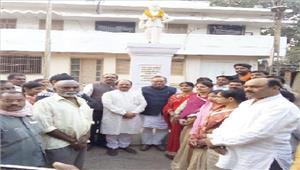 पं सुंदरलाल शर्मा की जयंती मनाई गई