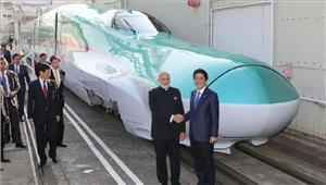 भारत में पहली बुलेट ट्रेन की नींव अबे ने कहा जय जापान जय इंडिया