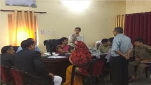 राष्ट्रीय महिला आयोग की सदस्या ने लगाई चौपाल
