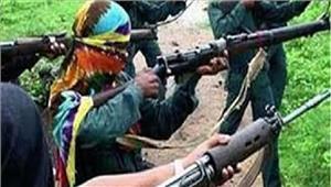 पुलिस और नक्सली मुठभेड़ में 1जवान शहीद