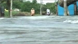 बाढ़ से 600 गांव प्रभावित 373 गांवपानी से घिरे