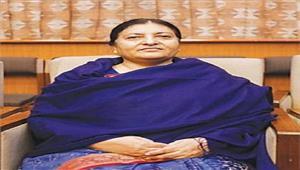 नेपाली राष्ट्रपति बिद्या देवी भंडारी का 17 अप्रैल को भारत दौरा