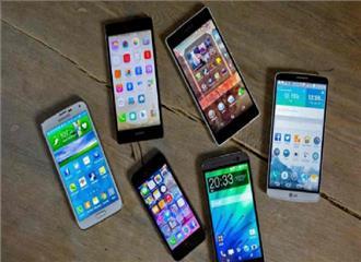 चीन में मोबाइल फोनकी बिक्री गिरी