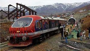 कश्मीर घाटी में रेल सेवायेंरद्द
