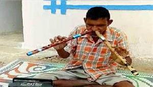 नाक से बांसुरी बजाने की अद्भुत कला