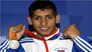 ब्रिटेन के पेशेवर मुक्केबाजऔर ओलम्पिक पदक विजेताआमिर खानलांच करेंगे प्रो बोक्सिंग लीग
