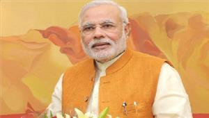 pm मोदीनेbjp के38वां स्थापना दिवस समारोहपरकार्यकर्ताओं को बधाई दी