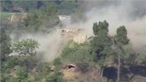 भारतीय सेना ने पाकिस्तान को दिया मुंहतोड़ जवाब ध्वस्त कीचौकियां