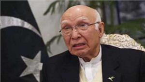 पाकिस्तान नहीं देगा भारत-अफगानिस्तान को व्यापार की अनुमति अजीज