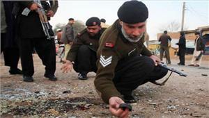 पाकिस्तान बारूदी सुरंग विस्फोट में5 मरे11घायल