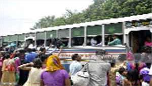 बसों की कमी से यात्री परेशान प्रशासन मौन