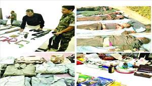 पुलिस-नक्सली मुठभेड़ में 1 जवान शहीद 5 नक्सली ढेर