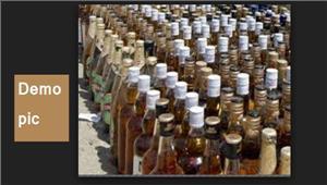 पुलिस ने पकड़ी अवैध शराब की खेप