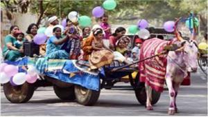 तमिलनाडु मेंधूमधाम से मनाया गया पोंगल