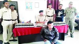 नशीली दवाओं सहित युवक गिरफ्तार