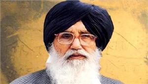 पंजाब  बादल नेमुख्यमंत्री पद से इस्तीफा दिया