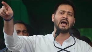 बिहार  तेजस्वीकाजद यू पर पलटवार