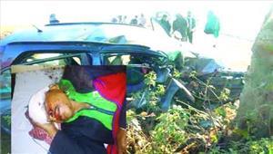 कार पेड़ से टकराई तीन की मौत 1 गंभीर