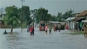 बारिश से पूर्वी असमके कई इलाकोंमें बाढ़