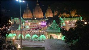 लगातार बरसात के बाद मंदिरों और रामलीलाओं में लौटी रौनक