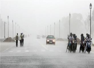 आज दिल्ली में जारी रहेगी बारिश