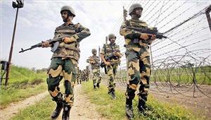 राजस्थान बीएसएफ नेअंतरराष्ट्रीय सीमा पर एक को किया संदिग्ध गिरफ्तार
