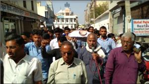 राजस्थान में किसान नेताओं की धरपकड़ जारी