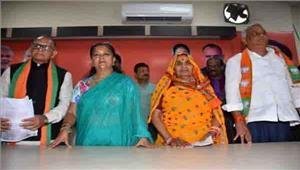 राजस्थान  भाजपा में लौटे विधायक किरोड़ीलाल मीणा
