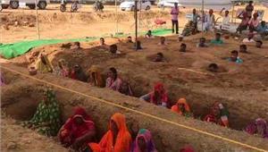 राजस्थान नींदड़ किसान सत्याग्रह काे अमराराम का समर्थन