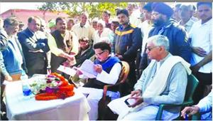 कांग्रेस प्रभारी पुनिया समेत दिग्गज नेताओं का जमावड़ा