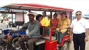 रक्षाबंधन पर महिलाओं के लिए मुफ्त ई रिक्शा सवारी