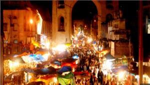 रमजान की रात की खरीदारी से गुलजार रहता है हैदराबाद